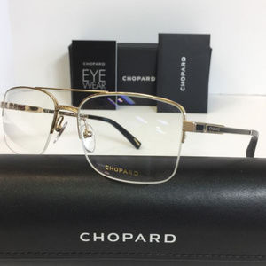Chopard VCH B95 0302 Gold Semi Rimless Eyeglasses
